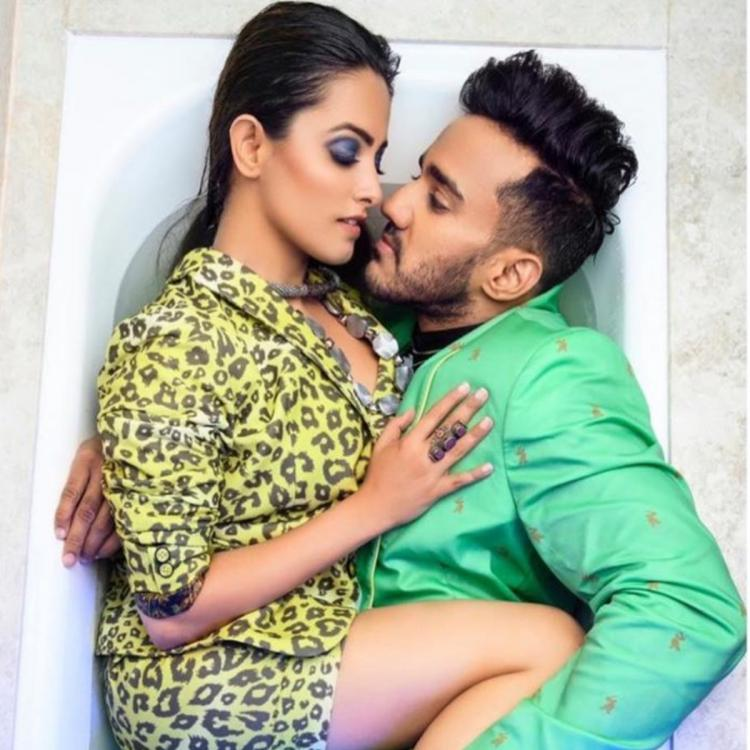 Anita Hassanandani and hubby Rohit Reddy are raising the 'Oomph factor' in their latest picture; Check it out
