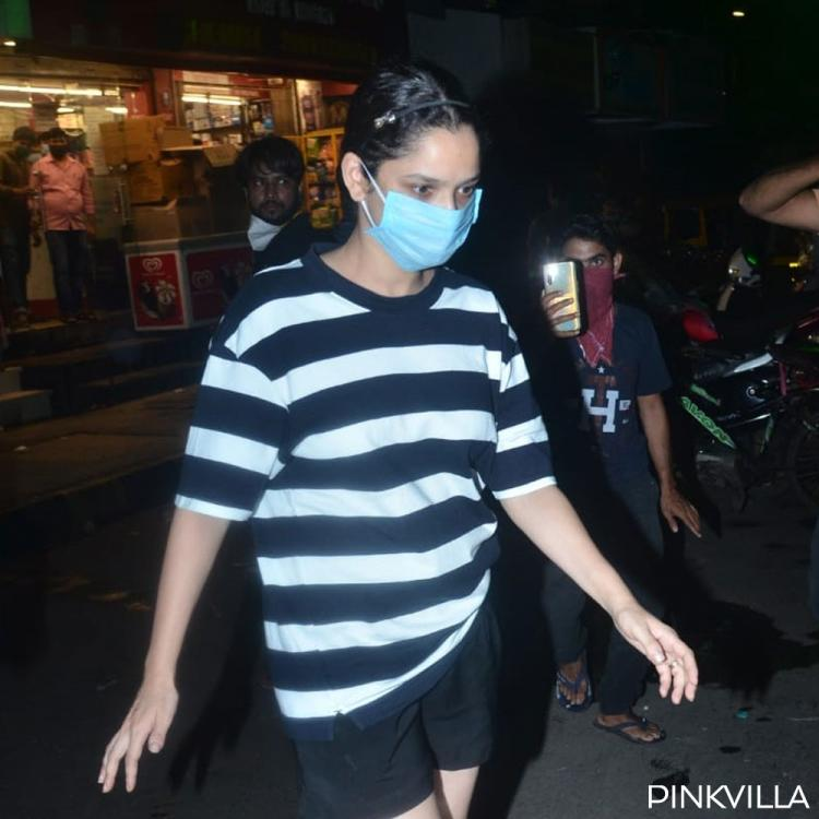 Ankita Lokhande steps out in city for the first time post ex beau Sushant Singh Rajput's demise; See Photos