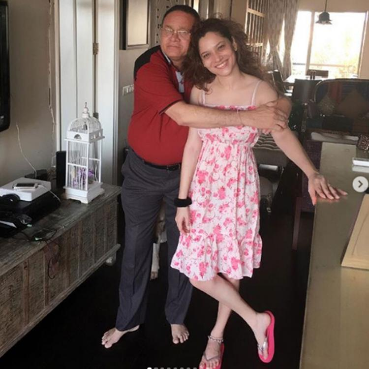 Ankita Lokhande's father gets discharged from the hospital; Actress says, 'Nothing will ever make me happy'