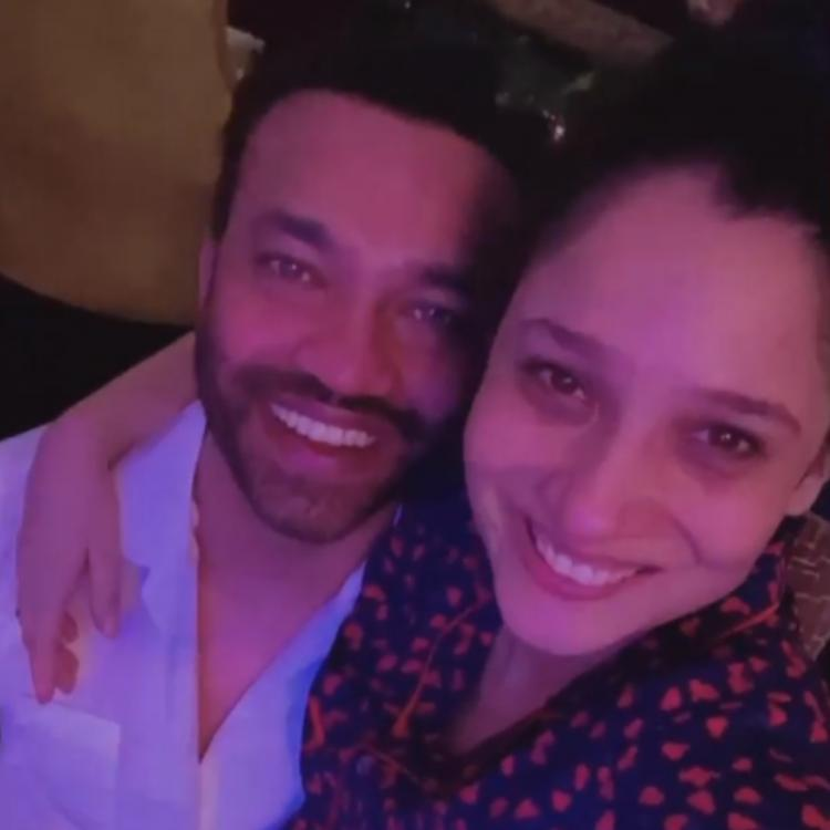 Ankita Lokhande and beau Vicky Jain are beyond elated as they get to meet each other; See PHOTO