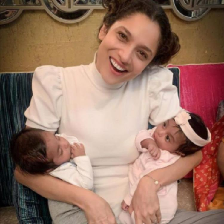 Ankita Lokhande spends time with twins Abeer & Abeera amidst ongoing tussle with Shibani Dandekar; See PHOTOS