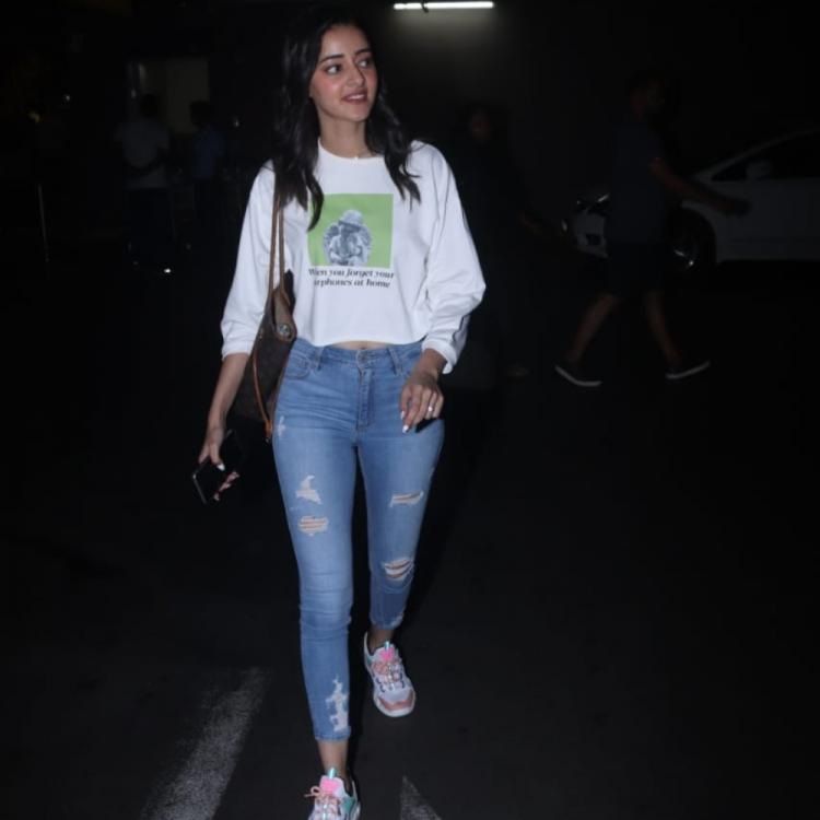 PHOTOS: Ananya Panday keeps it chic and stylish as she arrives at the airport