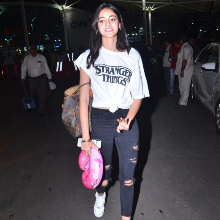 Airport Diaries: Ananya Panday is giving us major style goals as rocks her casual look