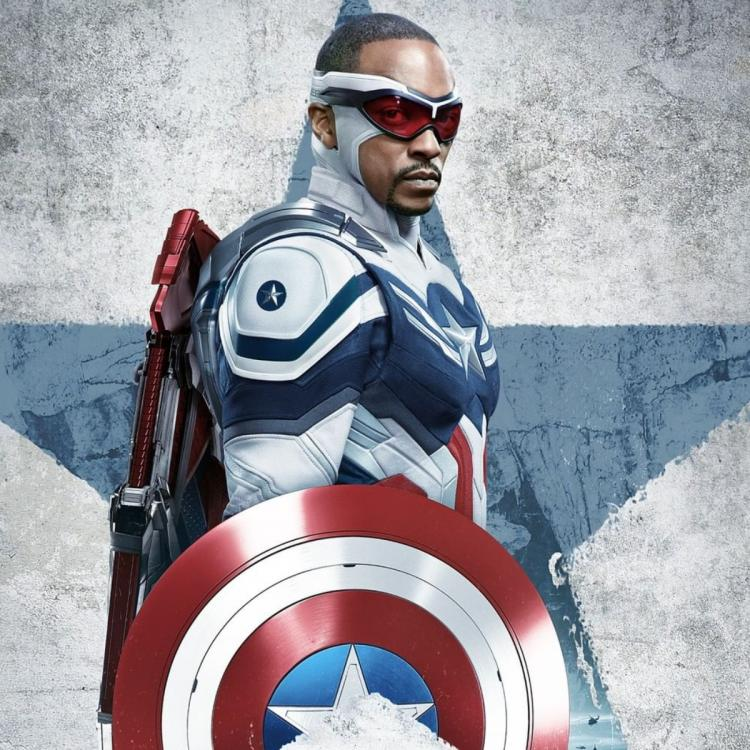 A grocery store checkout guy informed Anthony Mackie about Captain America 4.