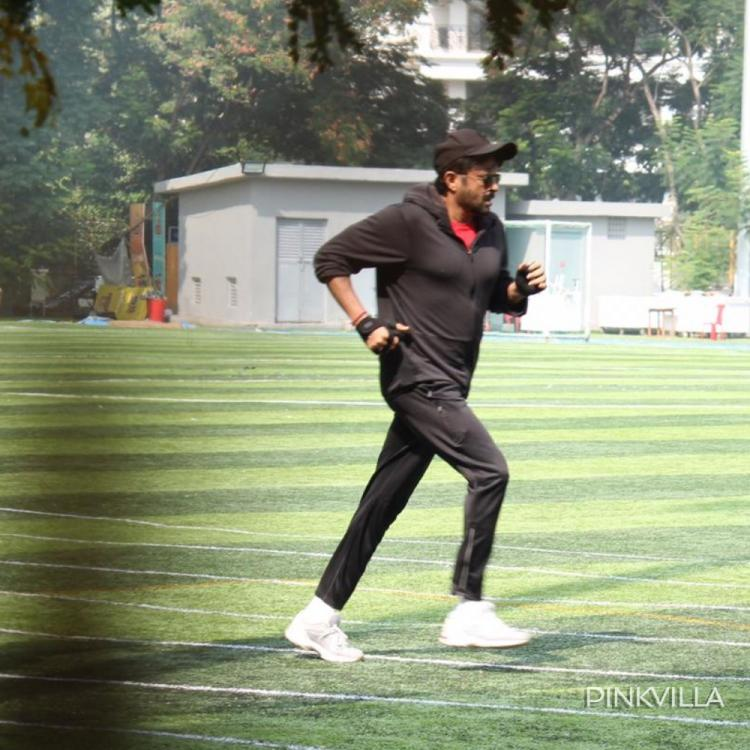 PHOTOS: Anil Kapoor shows he is a fitness freak as the actor goes sprinting in the city