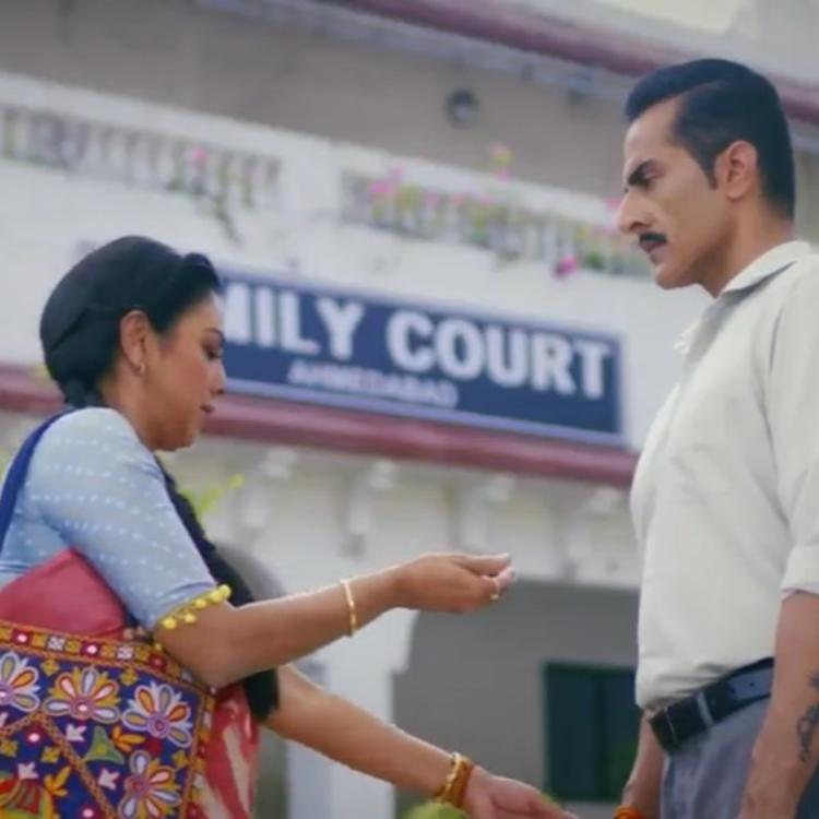 Rupali Ganguly and Sudhanshu Pandey in one of the old scene