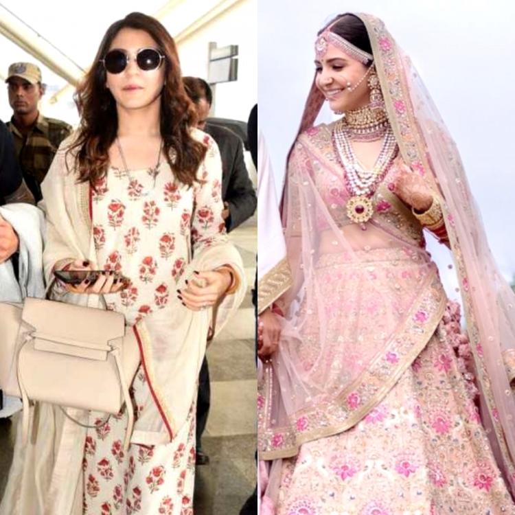 Anushka Sharma & Sabyasachi are an ICONIC duo: Weddings to airports; 10 times the actress rocked his outfits
