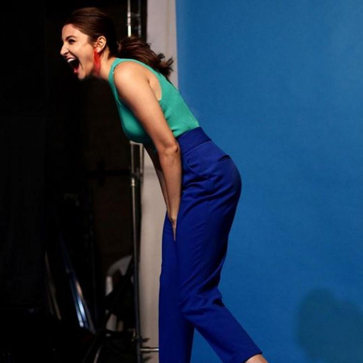 Anushka Sharma's cheerful vibes in THIS pic light up the internet as she asks 'Is happy Monday an oxymoron?'