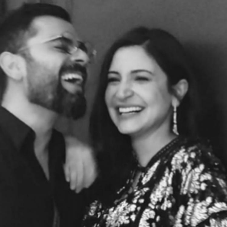 Welcome 2021: Anushka Sharma, Virat Kohli flaunt their goofy side as they send New Year wishes to fans