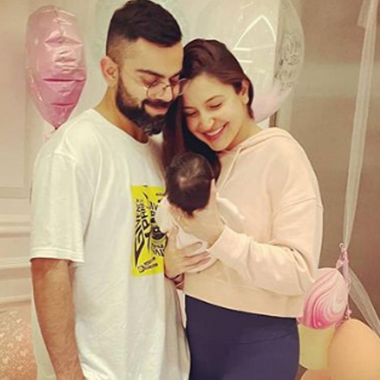 Anushka Sharma and Virat Kohli get a personalised nameplate for daughter Vamika and it is adorable