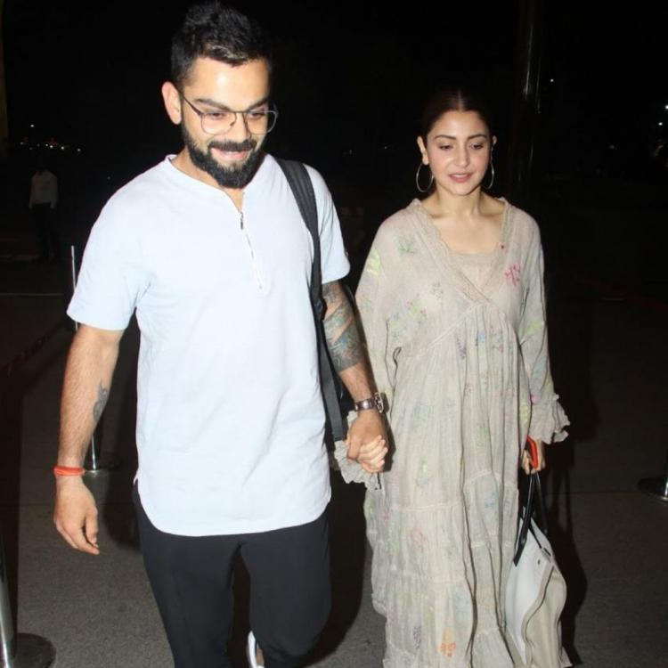 Anushka Sharma and Virat Kohli's throwback photos walking hand in hand will make you miss airport spottings