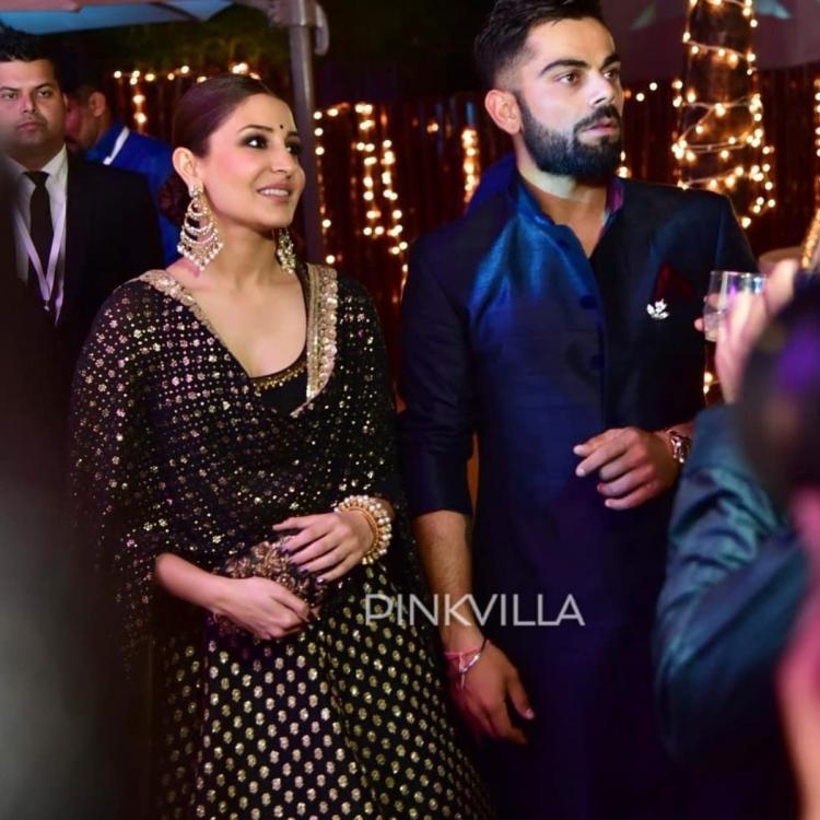 Anushka Sharma and Virat Kohli's unseen photos from a wedding is sure to light up your day