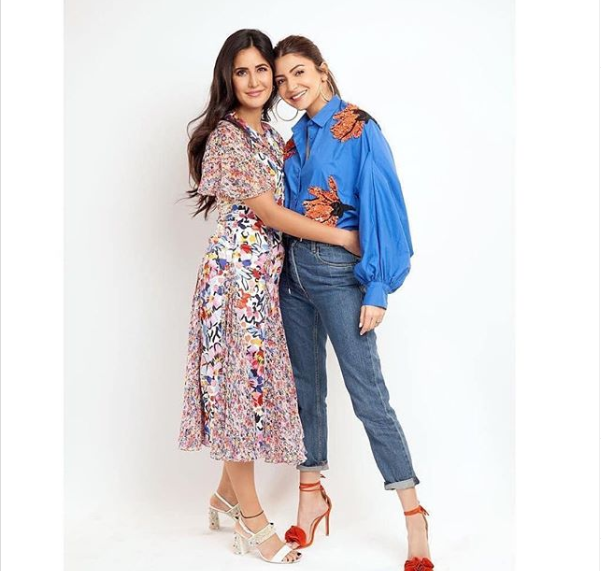 Katrina Kaif and Anushka Sharma are all things fashionable and fabulous in this PHOTO from Zero promotions