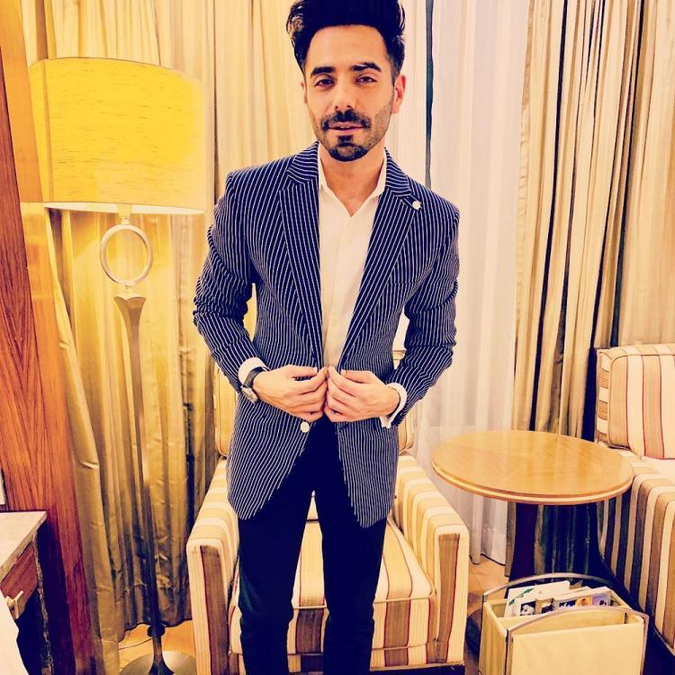 Aparshakti Khurana entertains fans by dancing in heels