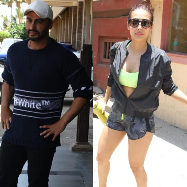Pics: Arjun Kapoor looks dapper as he promotes India's Most Wanted; Malaika Arora gets papped outside the gym