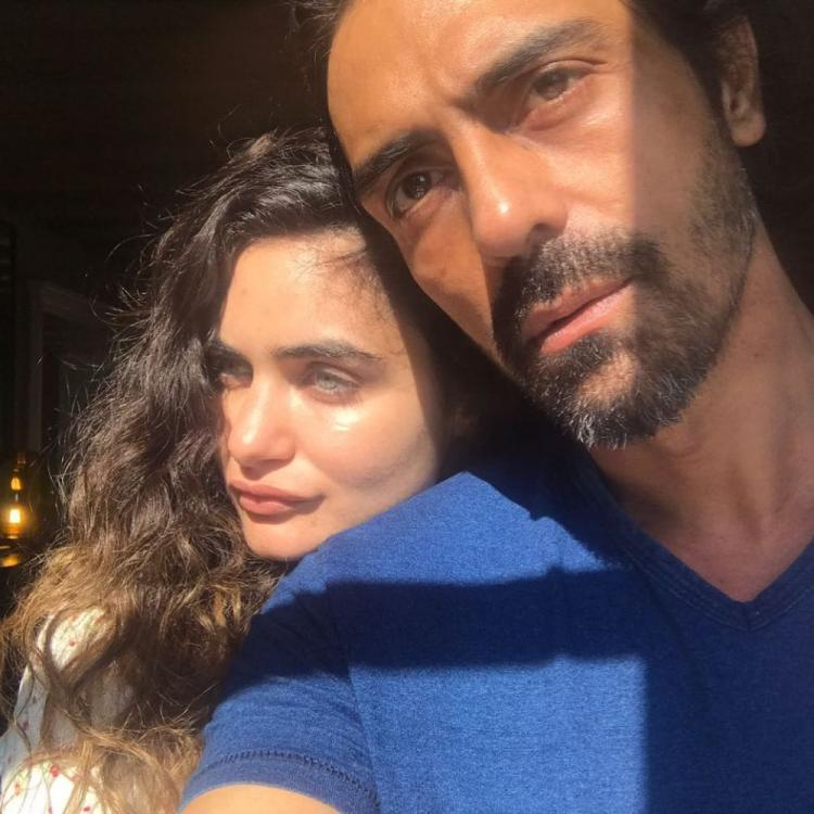 Arjun Rampal cosies up with girlfriend Gabriella in latest picture