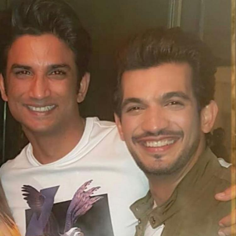 Arjun Bijlani remembers Sushant Singh Rajput as he shares a throwback PHOTO with the late actor