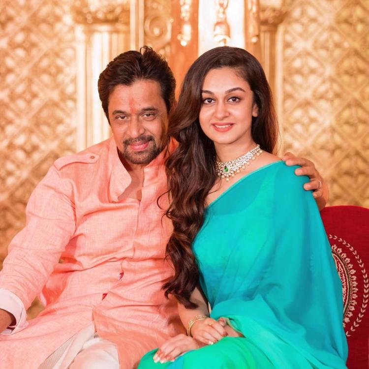 Arjun Sarja's daughter Aishwarya tests positive for COVID 19; Reveals she is quarantined at home