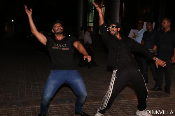 Ranveer Singh has a hilarious reaction to Arjun Kapoor's workout video; Check it out