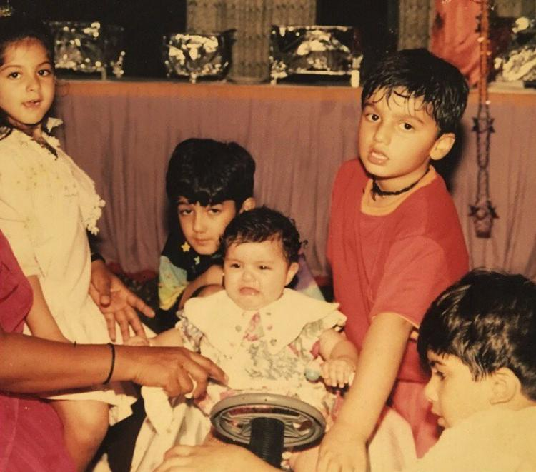 Arjun Kapoor and sis Anshula Kapoor's throwback photo proves 90s kids were a cute mess; Take a look