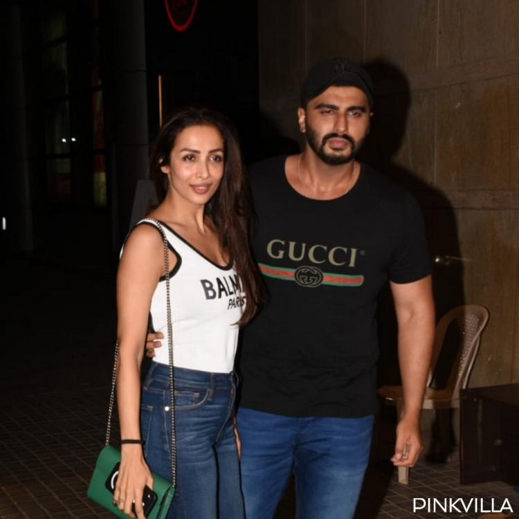 PHOTOS: Malaika Arora and Arjun Kapoor are all smiles as they strike a pose at India's Most Wanted screening