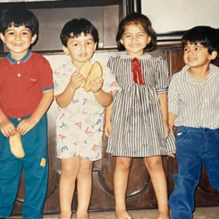 Arjun Kapoor & Sonam Kapoor reminisce childhood days as they share throwback PHOTOS with cousins