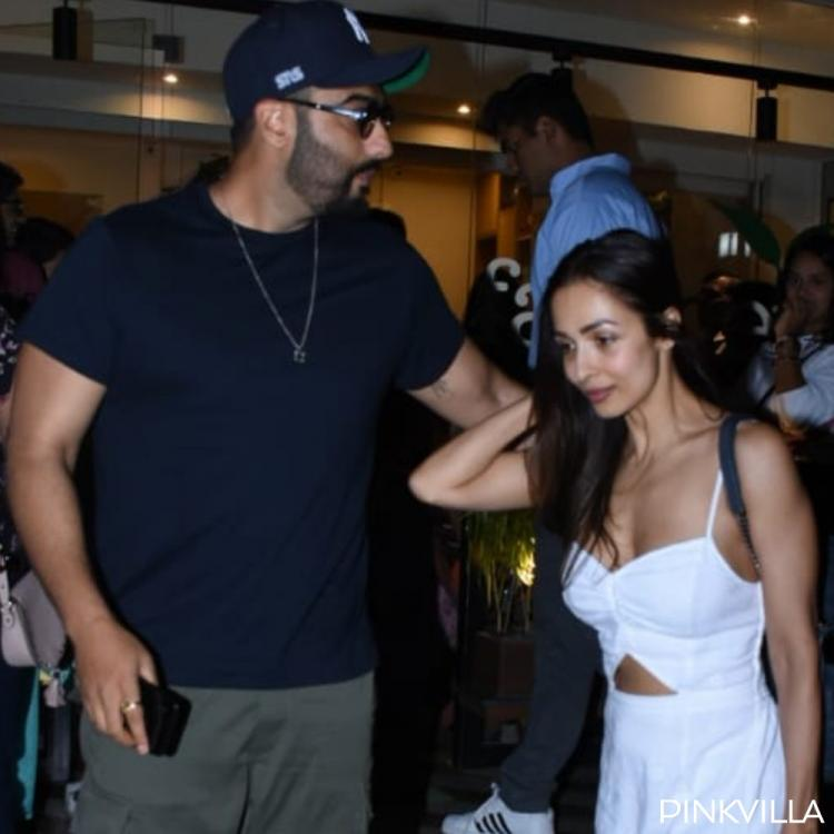 PHOTOS: Malaika Arora and Arjun Kapoor make heads turn as they step out post a dinner date in Mumbai