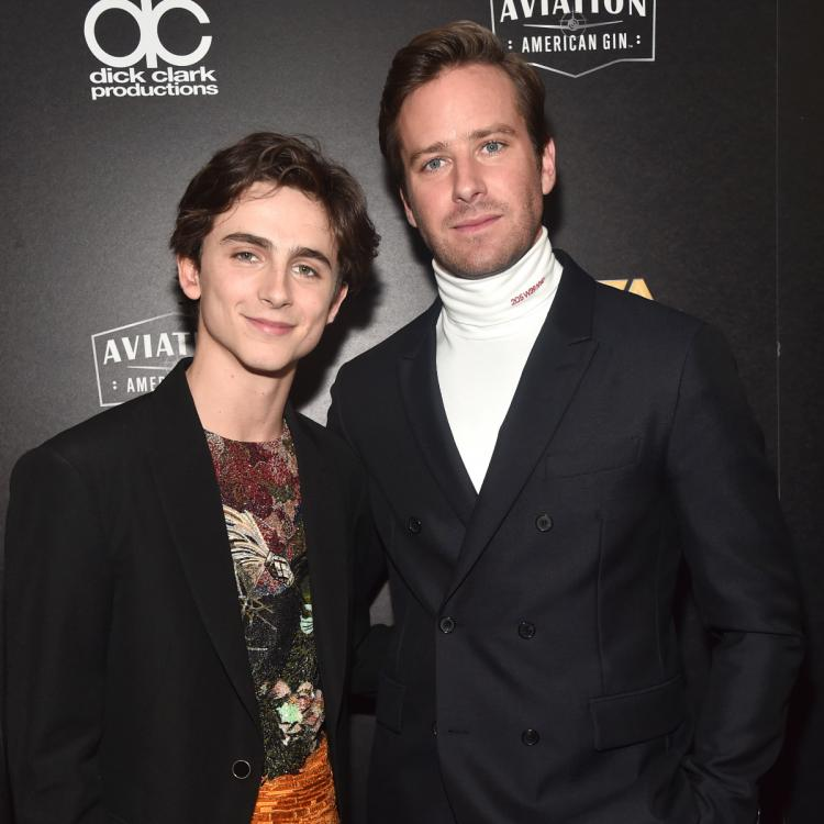 Armie Hammer explains THIRSTY comment on Timothee Chalamet's selfie
