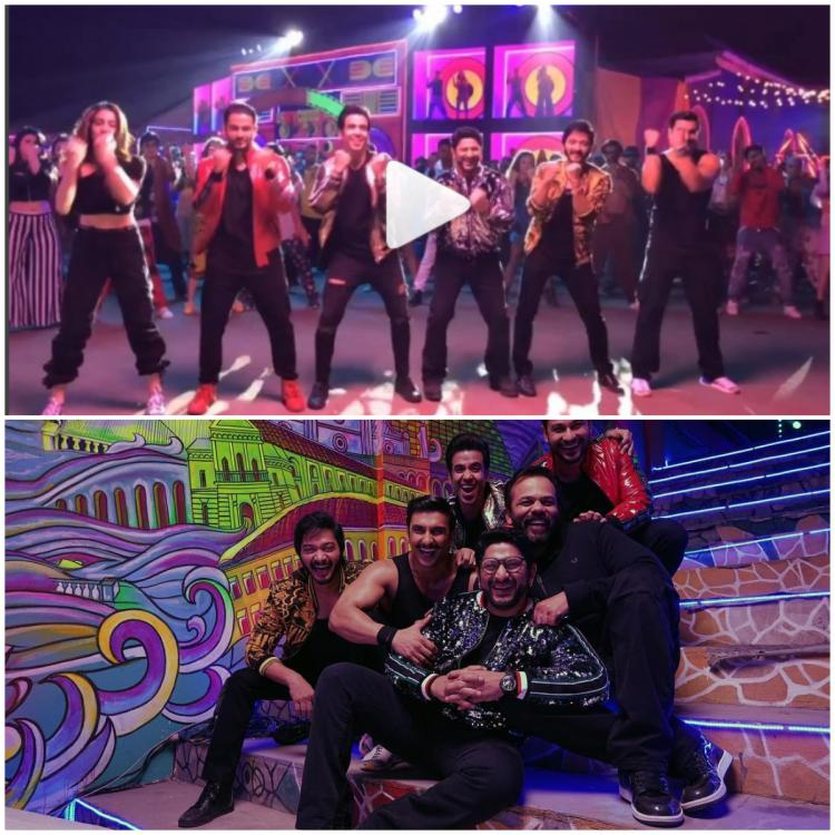 Simmba: Ranveer Singh and Sara Ali Khan 'Looked out of place' during the song shoot, says Arshad Warsi  | PINKVILLA
