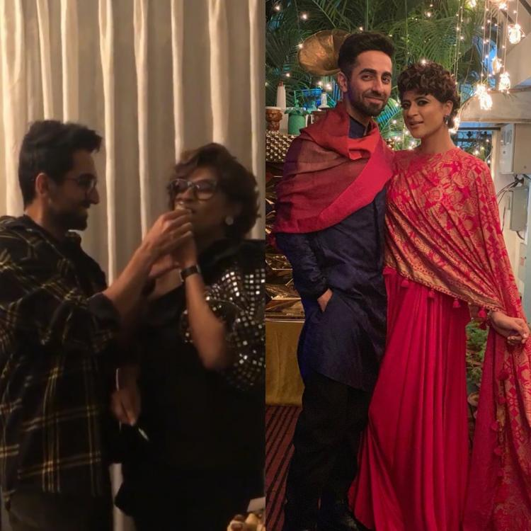 Ayushmann Khurrana asking about his kids as Tahira Kashyap cuts her birthday cake is every couple ever; WATCH
