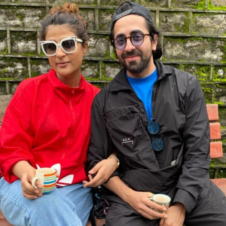 Ayushmann Khurrana enjoys a 'chai date' with Tahira Kashyap in Kasauli hills and leaves us longing for a trip