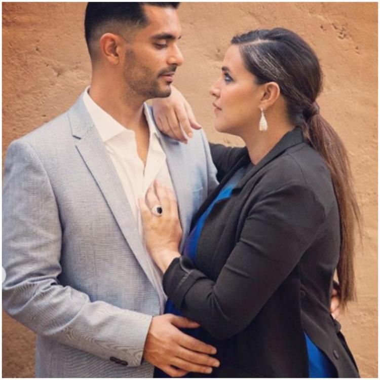 These pictures of Neha Dhupia and Angad Bedi are proof that the two are made for each other   PINKVILLA