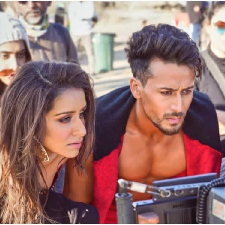 Baaghi 3: Tiger Shroff and Shraddha Kapoor's BTS photo from Dus Bahane 2.0 proves they aim for perfection