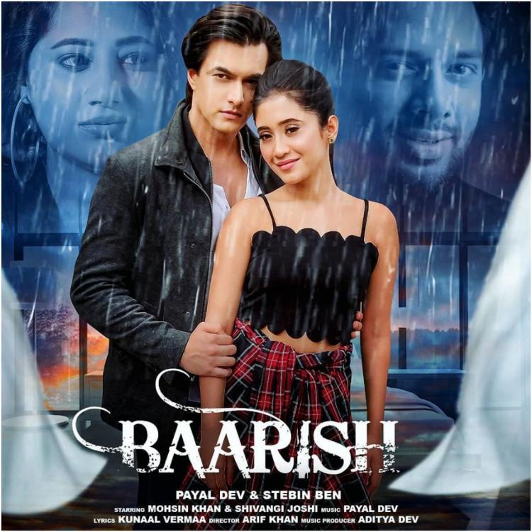 Baarish First Look OUT: Mohsin Khan and Shivangi Joshi surprise fans with a romantic poster on Eid