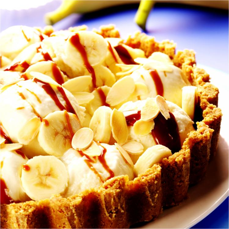 Easy 5 step recipe to make delightfully scrumptious Banoffee Pie