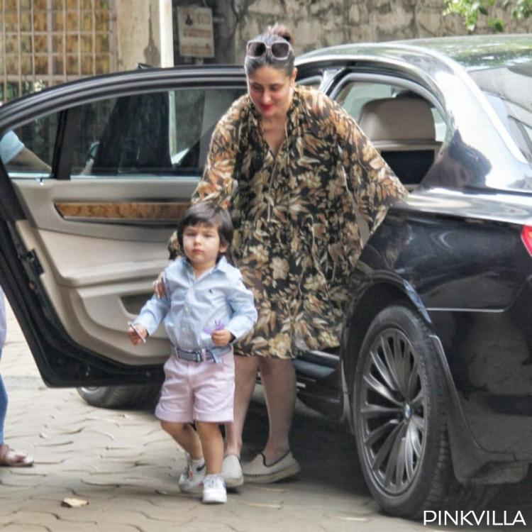 PHOTOS: Kareena Kapoor Khan enjoys a day out in the city with little munchkin Taimur Ali Khan