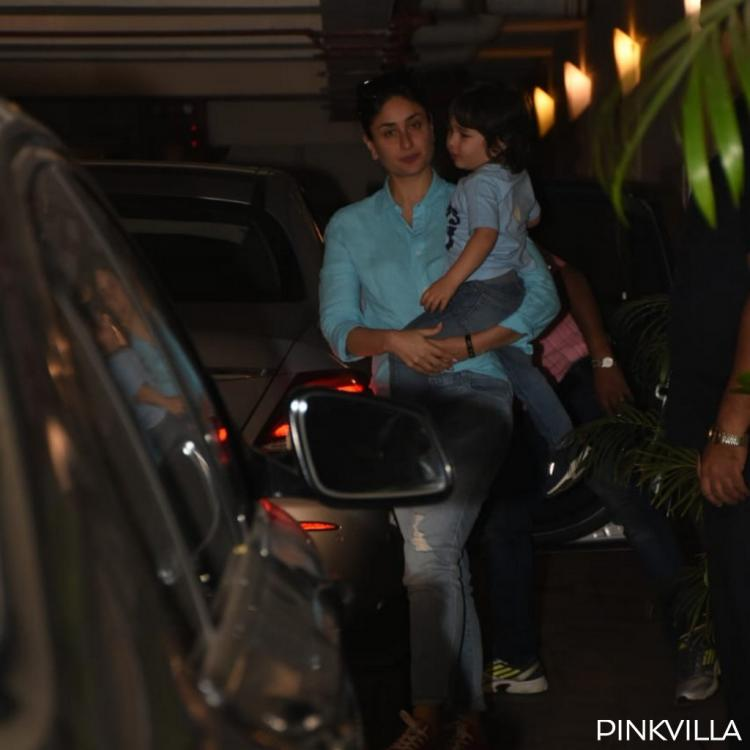 Kareena Kapoor twins with little munchkin Taimur Ali Khan as they step out in the city; See Pics