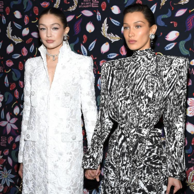 PHOTOS: Gigi Hadid and Bella Hadid ooze the Bond girl vibes at an exhibition in Paris Fashion Week