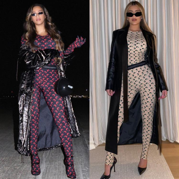 Fashion Faceoff: Beyonce or Kylie Jenner: Who wore the Marine Serre catsuit better?