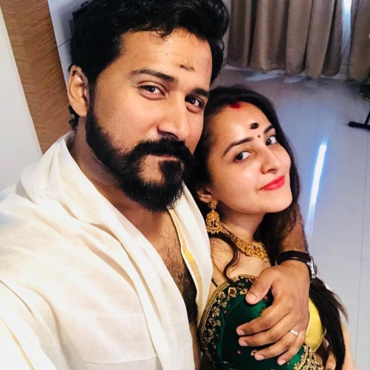 Bhama Arjun blessed with baby girl