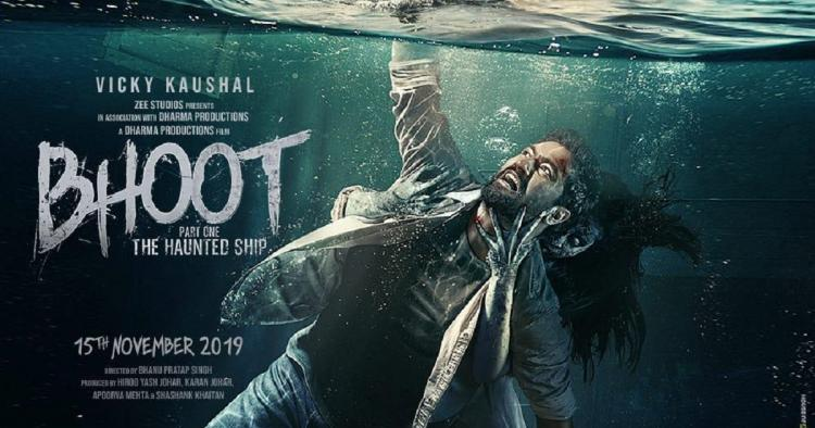 Bhoot Part One The Haunted Ship: Vicky Kaushal spooks us on Friday the 13th with the new poster; Check it out