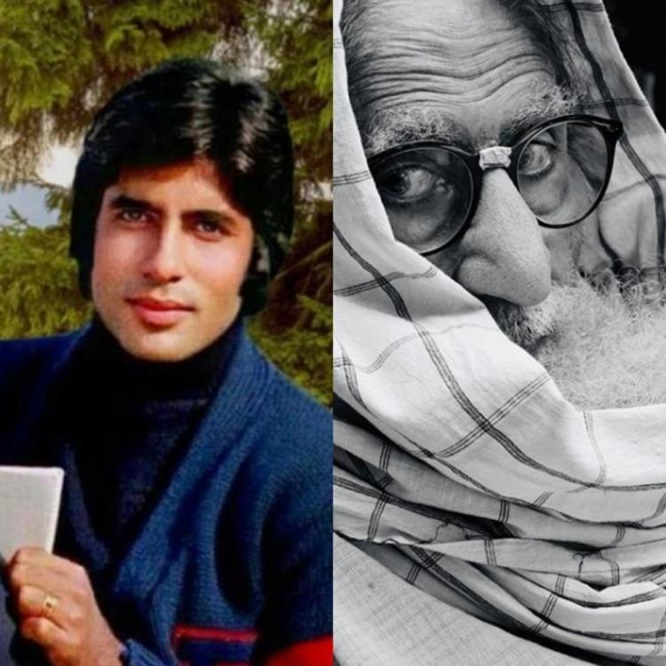 Amitabh Bachchan shares a THEN and NOW picture of himself along with a relatable, thoughtful POST