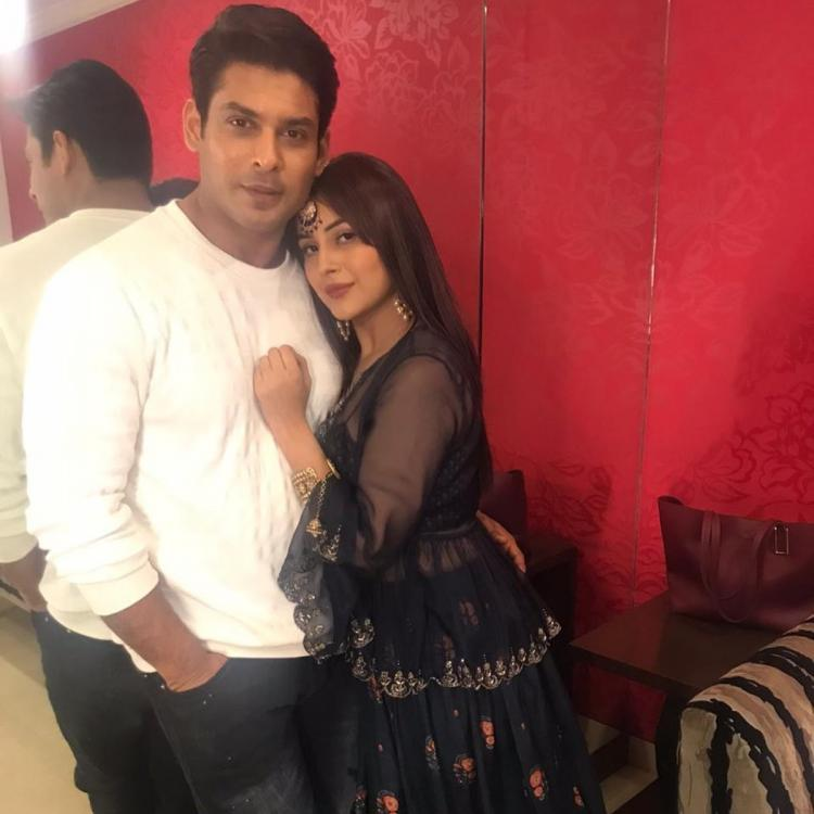 Bigg Boss 13 fame Shehnaaz Gill leaning on Sidharth Shukla as they meet again is all things love; See PicBigg Boss 13 fame Shehnaaz Gill leaning on Sidharth Shukla as they meet again is all things love; See Pic