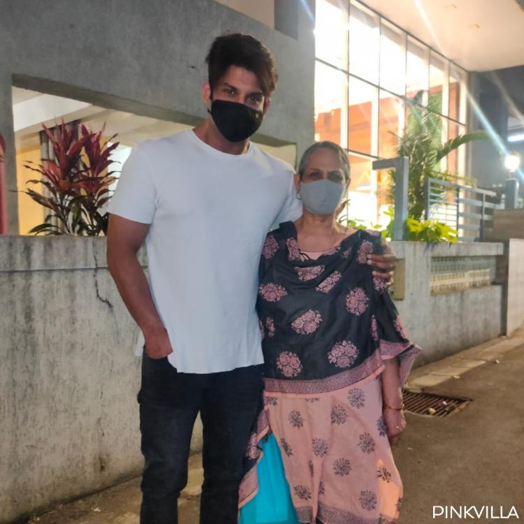 PHOTOS: Bigg Boss 13 winner Sidharth Shukla & his mom adhere to the 'new normal' as they step out in the city