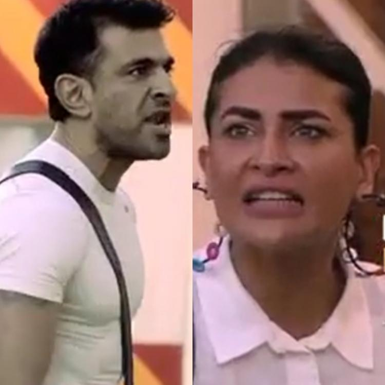 Eijaz Khan and Pavitra Punia dig out out graves while moderating the captaincy task in Bigg Boss 14