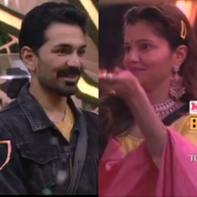 Rubina Dilaik and Abhinav Shukla celebrate Karwa Chauth in Bigg Boss 14 house