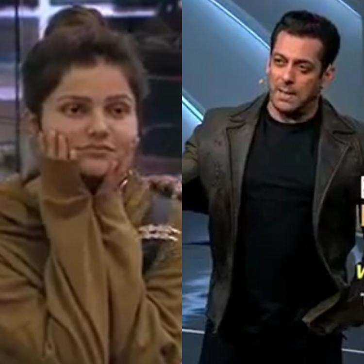 Salman Khan and Rubina Dilaik get into an intense argument during Bigg Boss 14 Weekend Ka Vaar
