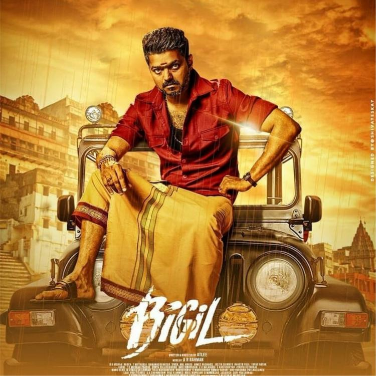 Thalapathy Vijay and Nayanthara starrer Bigil gets a re release in Pondicherry