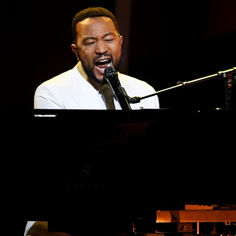 John Legend emotionally dedicated his Never Not performance to Chrissy Teigen at the Billboard Music Awards 2020
