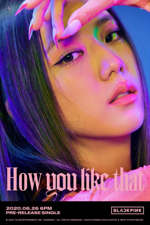 BLACKPINK's How You Like That drops on June 26, 2020.